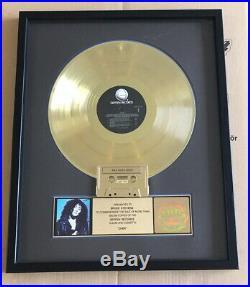 Cher RIAA Gold Award goldene Schallplatte Cher music award 500.000 Alben