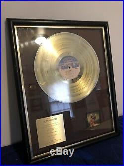 Cher Take Me Home Gold Record Award Casablanca Records