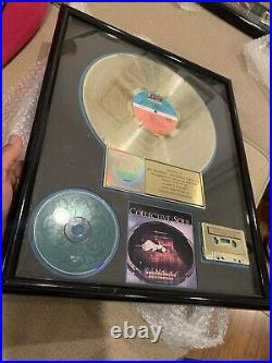 Collective Soul RIAA Gold Record Award Vinyl