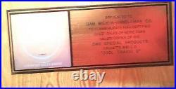 Cool Traxx 2 RIAA Gold Record Award NSync Backstreet P! NK Aquilera Britney