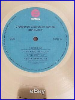 Creedence Clearwater Revival Original CANADA Gold Record Award SUPER RARE CCR