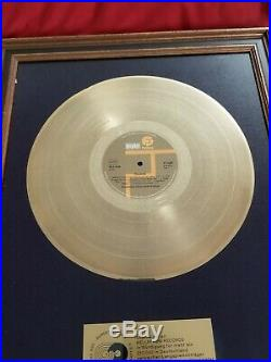 Creedence Clearwater Revival Original GERMAN Gold Record Award SUPER RARE CCR