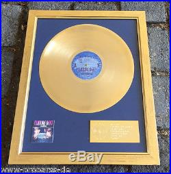 Culture Beat Gold Award Goldene Schallplatte Anything verliehen an Sony