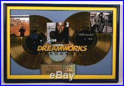 DREAMWORKS RIAA MUSIC INDUSTRY GOLD RECORD AWARD Prince of Egypt Dave Hollister