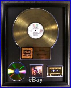 David Bowie Let's Dance LP, Cassette, CD Gold Non RIAA Record Award EMI Records