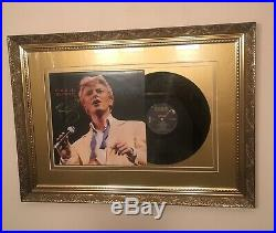 David Bowie SIGNED Golden Years 1999 MUCH MUSIC VIDEO AWARDS