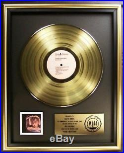 David Bowie Young Americans LP Gold RIAA Record Award RCA Records