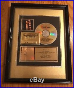 Debbie Gibson Anything Is Possible Gold Record Sales Award RIAA certified