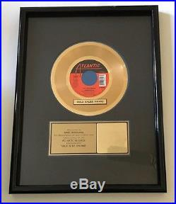 Debbie Gibson Only In My Dreams Single RIAA certified Gold Record Award