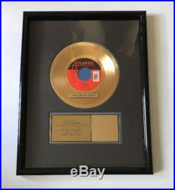 Debbie Gibson Shake Your Love Single Gold Record Sales Award RIAA Certified