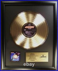 Def Leppard Pyromania LP Gold Non RIAA Record Award Mercury Records