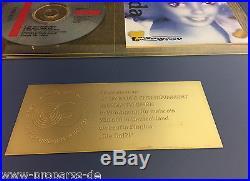 Die Fantastischen Vier Gold Award Die Da (goldene Schallplatte) Fanta 4