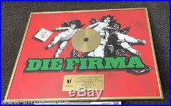 Die Firma Gold Award goldene Schallplatte Die Eine 2005 an Jack White Pro
