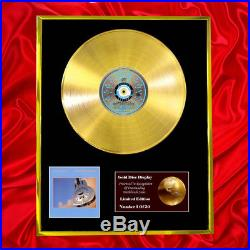 Dire Straits Brothers In CD Gold Disc Record Vinyl Lp Record Award Free P&p