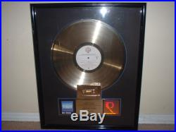 Dire Straits Riaa Gold Record Award Communique Once Upon A Time In The West