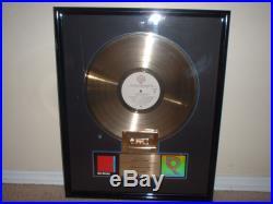 Dire Straits Riaa Gold Record Award Making Movies Skateaway Tunnel Of Love