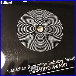 Dirty Dancing CRIA RIAA GOLD RECORD AWARD, Motion Picture Soundtrack