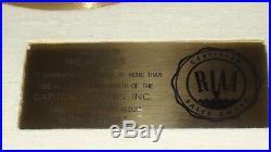Disque d or The Beatles Gold Record Award Disc Riaa Disco d oro Rubber Soul