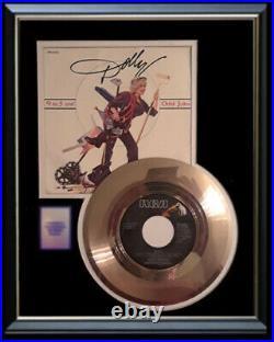 Dolly Parton Nine To Five 45 RPM Gold Vinyl Record Rare Non Riaa Award 9 To 5