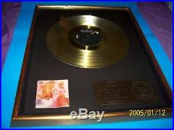 Dolly Parton Original 1978 Riaa Heartbreaker Gold Record Award
