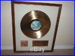 Doobie Bros Riaa Gold Record Award White Matte Toulouse St Listen To The Music