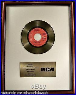 Dottie West Country Sunshine 45 Gold Non RIAA Record Award RCA Records To Dottie