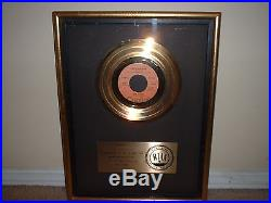Dr Hook Riaa Gold Record Award 45 Only Sixteen