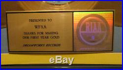 Dreamworks Records Award Presented to WFXA, Making Our First Year Gold