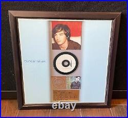 Duncan Sheik MUSIC RIAA Award Gold Record incredibly rare