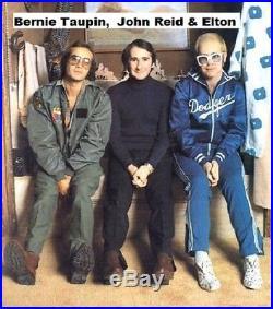 ELTON JOHN 1985 Gold Record Award presented to manager JOHN REID -100% AUTHENTIC