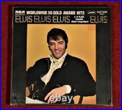 ELVIS PRESLEY 12 Yugoslavia LP Box Set WORLDWIDE GOLD AWARD HITS
