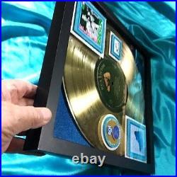 ELVIS PRESLEY BLUE SUEDE SHOES GOLD RECORD AWARD- 1956 His Debut Album 1st R