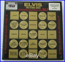 ELVIS PRESLEY The Other Sides Worldwide Gold Award Hits Vol 2 4 LP + 2 BONUSES