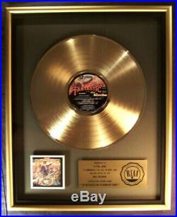 Elton John Captain Fantastic The Brown Dirt Cowboy LP Gold LP RIAA Record Award