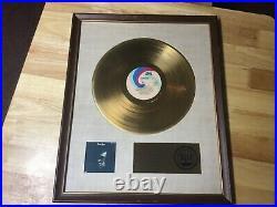 Elton John original 1971 riaa gold record award