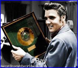 Elvis Presley 1956 Debut LP Gold Non RIAA Green Record Award RCA Records