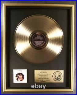 Elvis Presley A Legendary Performer Volume 1 LP Gold RIAA Record Award RCA