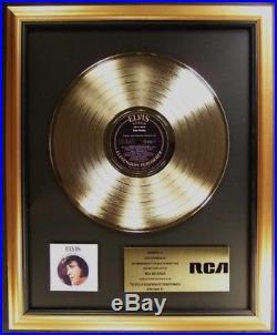 Elvis Presley A Legendary Performer Volume 2 LP Gold Non RIAA Record Award