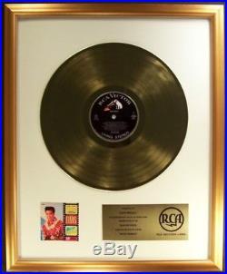 Elvis Presley Blue Hawaii Soundtrack LP Gold Non RIAA Record Award RCA Records