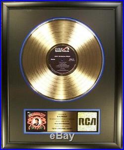Elvis Presley Elvis' Christmas Album LP Gold Non RIAA Record Award RCA Records