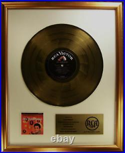 Elvis Presley Elvis' Golden Records LP Gold Non RIAA Record Award RCA Records