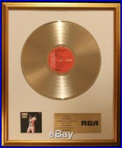 Elvis Presley Elvis Now LP Gold Non RIAA Record Award RCA Records