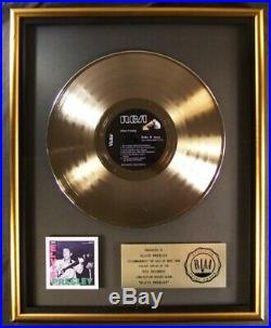 Elvis Presley Elvis Presley Debut 1956 LP Gold RIAA Record Award RCA To Elvis