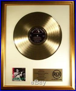 Elvis Presley Elvis Presley (Debut) LP Gold Non RIAA Record Award RCA Records