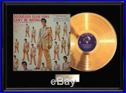 Elvis Presley Golden Records Gold Metalized Record Vol. 2 Album Non Riaa Award