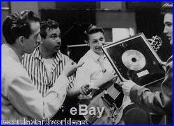 Elvis Presley Heartbreak Hotel 45 Gold Non RIAA Green Record Award RCA Records