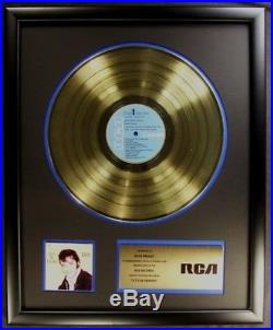 Elvis Presley Let's Be Friends LP Gold Non RIAA Record Award RCA Records