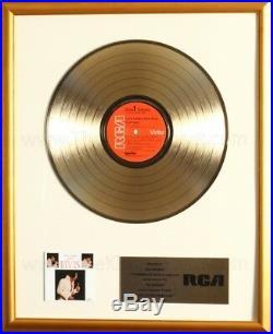 Elvis Presley Love Letters From Elvis LP Gold NON RIAA Record Award RCA Records
