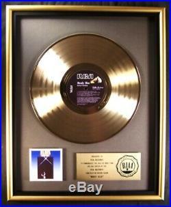 Elvis Presley Moody Blue LP Gold RIAA Record Award RCA Records To RCA Records