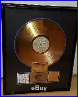 Elvis Presley RIAA record award gold record gold records volume 2